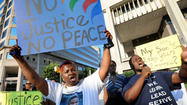 Protesters rally for more serious charges against officer indicted in teen's death