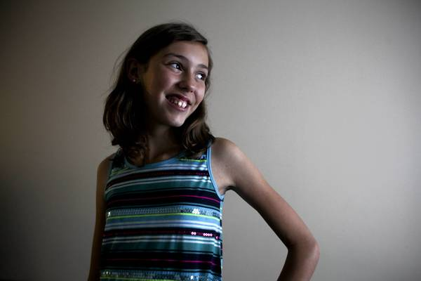 Abby Goldberg, 12, plans to present a 150,000-signature online petition to Gov. Pat Quinn's office Tuesday. She's urging Quinn to veto a plastic bag bill.