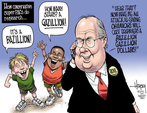 Karl Rove's and GOP super PACs' bogus research methods
