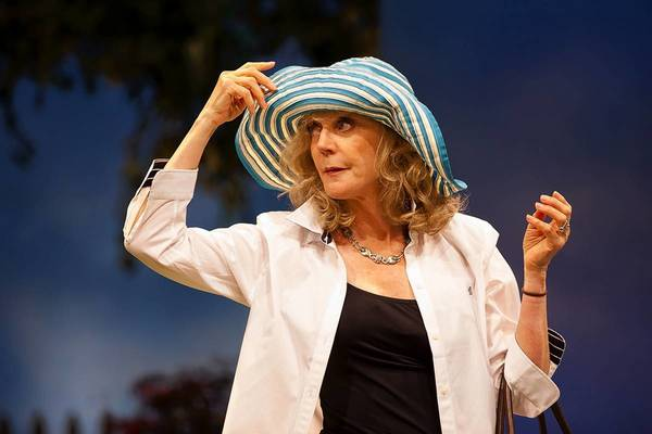Blythe Danner is part of the cast of 'The Blue Deep' at the Williamstown Theatre Festival. The play, by Lucy Boyle, is directed by Bob Balaban. Blue Deep WTF '12-79.The Blue Deep, by Lucy Boyle, directed by Bob Balaban at Williamstown Theatre Festival 2012.Lighting Design: Matthew Richards.Set Design: Andrew Boyce and Takeshi Kata.Costume Design: Mimi O'Donnell..Photograph © T Charles Erickson.tcepix@comcast.net.http://tcharleserickson.photoshelter.com/.