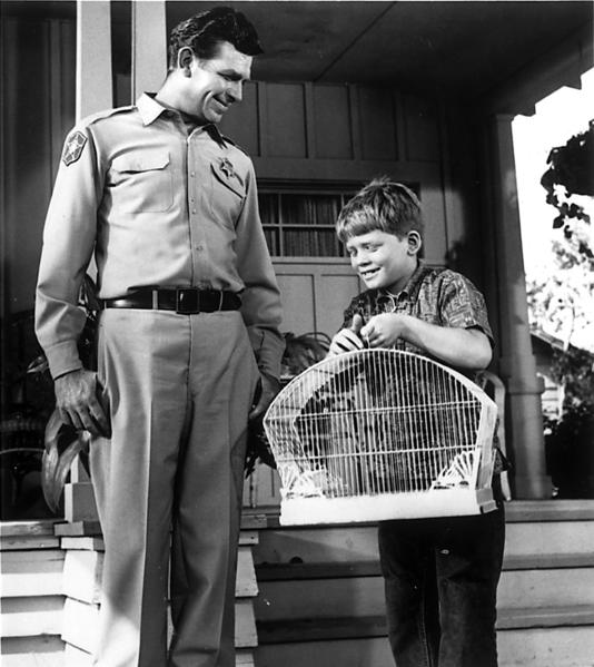 "Andy Griffith appears in a scene with Ronny Howard on ""The Andy Griffith Show."" ""The backbone of our show was love,"" Griffith once said. ""There's something about Mayberry and Mayberry folk that never leaves you."" <style type=""text/css"">