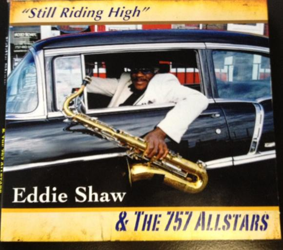 Blues sax man Eddie Shaw will celebrate the release of his new CD
