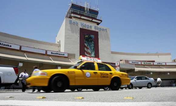 Bob Hope Airport officials attribute drop in parking revenues to more people dropping off at the curb.
