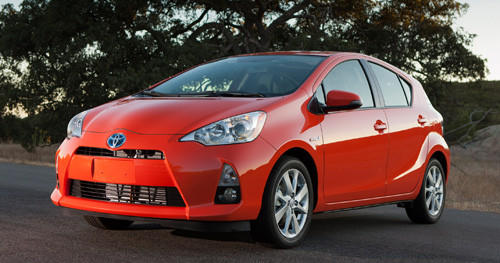 "Starting price $18,950-$23,230<br><a href=""http://www.cars.com/toyota/prius-c/2012/"">2012 Toyota Prius c prices, photos & reviews</a>"