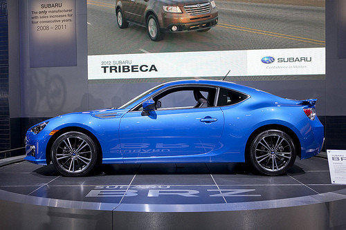 "Starting price $25,495-$27,495<br><a href=""http://www.cars.com/subaru/brz/2013/"">2013 Subaru BRZ prices, photos & reviews</a>"