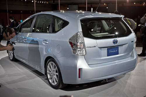 "Starting price $26,550-$30,140<br><a href=""http://www.cars.com/toyota/prius-v/2012/"">2012 Toyota Prius v prices, photos & reviews</a>"