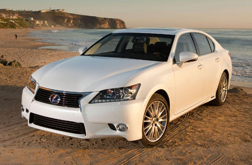 "Starting price $58,950<br><a href=""http://www.cars.com/lexus/gs-450h/2013/"">2013 Lexus RX 450h prices, photos & reviews</a>"