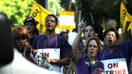 Pictures: Striking Health Care Workers