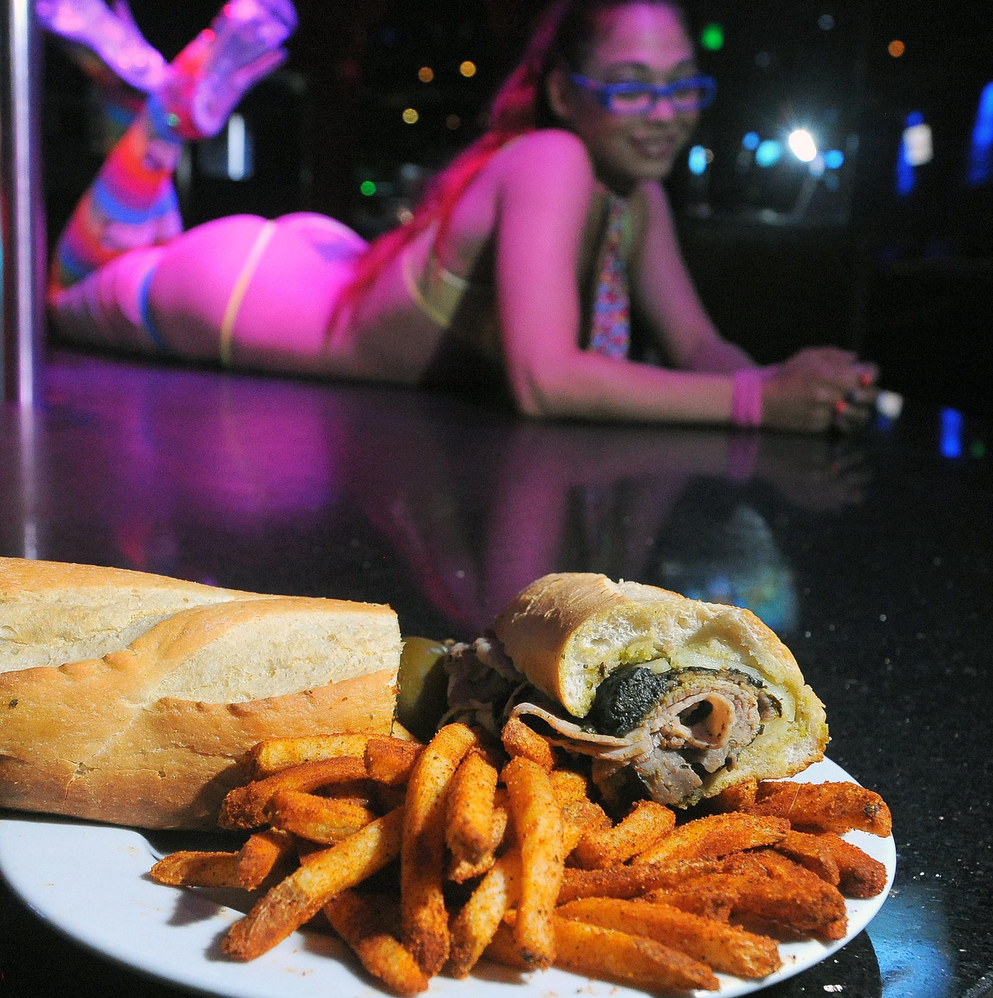 Baltimore strip club food [Pictures] - Strip club food