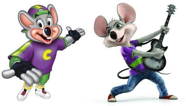 Chuck E  Cheese New Mascot