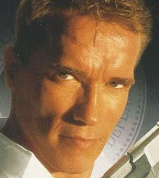 TV and Movie Spies: Harry Tasker (Arnold Schwarzenegger) leads a double life with the Omega Sector and Tektel Systems. It all comes crashing down when Tasker and his wife Helen (Jamie Lee Curtis) are captured.