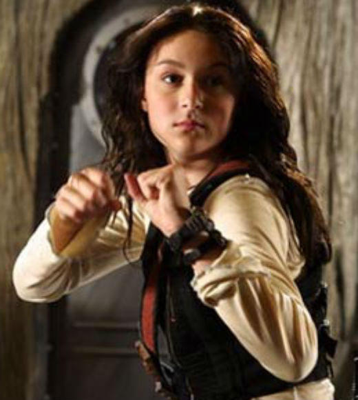 TV and Movie Spies: After her parents are kidnapped, Carmen Cortez (Alexa Vega) and her brother Juni (Daryl Sabara) go to Floops island castle to rescue them. Carmen displays fierce loyalty to her family and the determination to reunite them with the OSS.