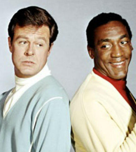TV and Movie Spies: Agents Kelly Robinson (Robert Culp) and Alexander Scott (Bill Cosby) save the world with their humor and questionable work ethic in this 1965 series. Robinson posed as a tennis pro and Scott as his trainer, while they went on missions for the Pentagon.