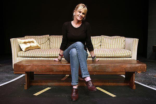 Celebrity portraits by The Times: Melanie Griffith returns to the spotlight as a young mans dysfunctional mother in No Way Around but Through, a new play written by and starring Scott Caan.  MORE: The Sunday Conversation: Melanie Griffith returns to the stage