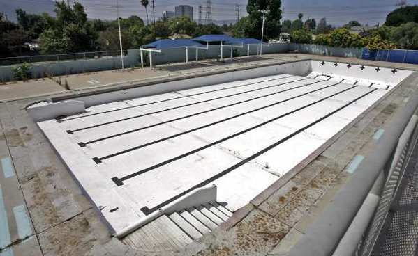 Remodeling at The Verdugo Park Pool and Recreation Center in Burbank continues.