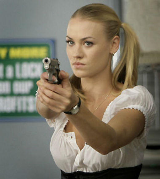TV and Movie Spies: Sent to California to oversee the training of Chuck and the Intersect, Sarah Walker (Yvonne Strahovski) proves to be a powerful source in fighting international terrorists. Over five seasons, Sarah learns to adapt to civilian life and trust others.