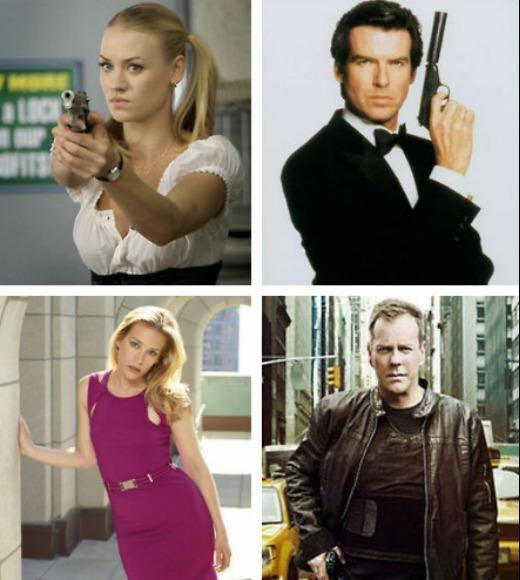 TV and Movie Spies: From Annie Walker in Covert Affairs to Austin Powers in Austin Powers: International Man of Mystery, there are hundred of spies portrayed by novels, television shows, and films. Here are Zap2its picks for best fictional spies!