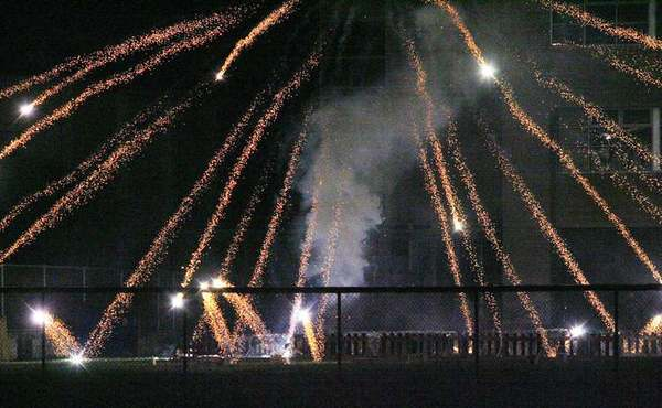 Fireworks exploded near the La Crescenta Elementary School playground last 4th of July.