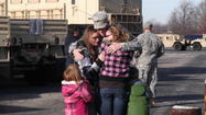 PHOTOS: Sgt. Raymond Scott says goodbye before heading back to Afghanistan