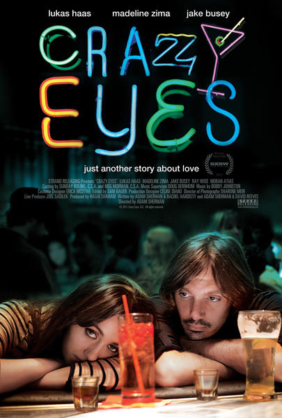 Lukas Haas and Madeline Zima in Adam Sherman's CRAZY EYES.