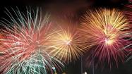 Where are Michiana's public fireworks displays?