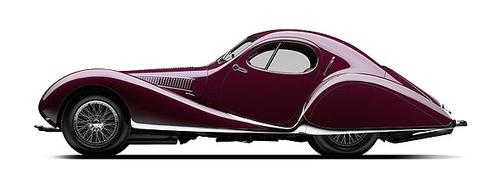 """Mullin Automotive Museum founder Peter Mullin names the 1938 Talbot Lago T150 SS as his top pick for the most beautiful car ever. The Talbot is the finest example of the """"rolling sculpture"""" style popularized by the classic French cars of the 1930s."""
