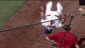 Video: Kolten Wong back flip before 4th of July game