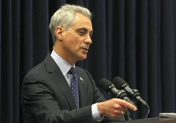 The latest tension in Mayor Rahm Emanuel's testy relationship with major Chicago labor unions is centered on O'Hare International Airport, where the city is poised to award a new janitorial contract that could cost hundreds of workers their jobs.