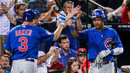 ATLANTA — After finishing the first half of their schedule with a 31-50 record following Wednesday's 5-1 victory over the Braves, the Cubs look forward to making improvements over the final 81 games.