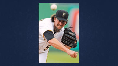 Pittsburgh Pirates closer Joel Hanrahan delivers during the ninth inning of a baseball game against the Houston Astros in Pittsburgh, Wednesday. Hanrahan recorded his 21st save.