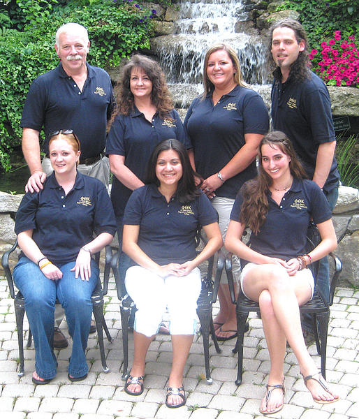 Hagerstown Community College participants in a recent Phi Theta Kappa institute in Wilkes-Barre, Pa., included, front row, from left, Phi Theta Kappa student officers Leann Tomlin, Allie Villatoro and Andrea Theodoru. Back row, Phi Theta Kappa student officer Allen Calvert; Phi Theta Kappa co-adviser Sherry Donovan; and Phi Theta Kappa student officers Heather Geary and Rick Howe.