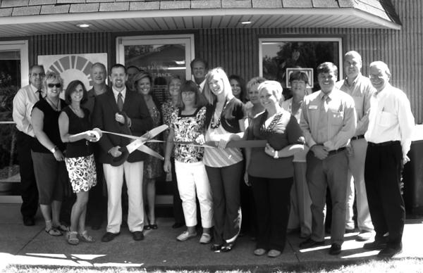 Dr. and Mrs. Zac McCallister celebrate the opening of Natural Bridge Chiropractic located at 1414 W. Lexington Ave.; in the lower level of the Davis Building. Natural Bridge Chiropractic offers chiropractic adjustments, spinal rehabilitation and wellness care. Business hours are Monday, Wednesday and Friday, 7:30 a.m.-5:30 p.m., Tuesday 6:30-9:30 a.m. and Thursday 4:30-7:30 p.m. New patients can be seen the same day by calling 737-BACK.