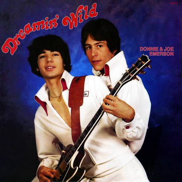 "The album cover for Donnie (left) and Joe Emerson's ""Dreamin' Wild."""