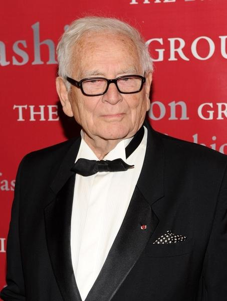 Fashion designer Pierre Cardin is 89.