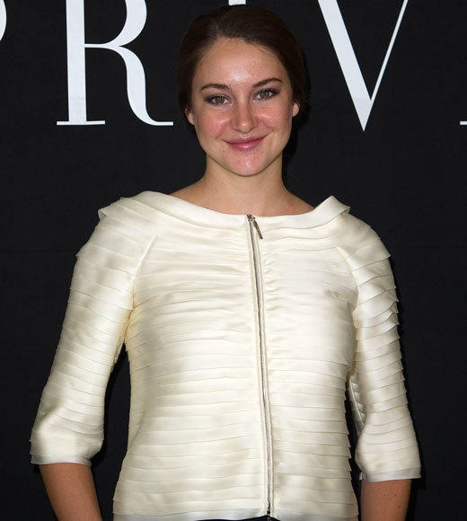 Celebrities at Paris Fashion Week 2012: Kim Kardashian, Kanye West and more...: Shailene Woodley