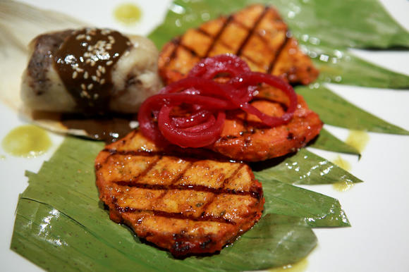 Achiote Marinated Grilled Pork