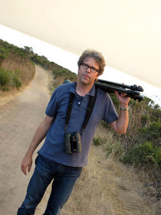Author Jonathan Franzen.