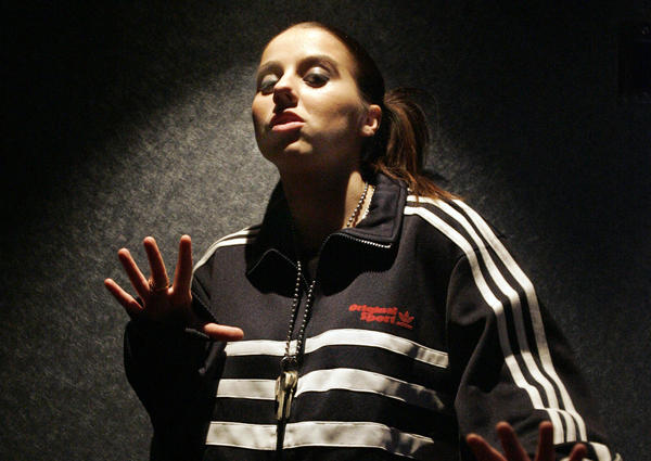 "British rapper Lady Sovereign came out in an April 2010 <a href=""http://www.divamag.co.uk/category/arts-entertainment/lady-sovereign-britain's-out-lesbian-rapper.aspx"">interview</a> with Diva magazine. <br /> <br /> ""Magazines would always ask about it but [questions about my sexuality] would get stopped by my publicists,"" she told the magazine. ""It was my choice, too, because I was a bit worried about it but now I don't really give a .... You can't hide away forever."""