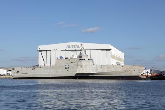 Austal USA shipyard in Mobile, Ala.