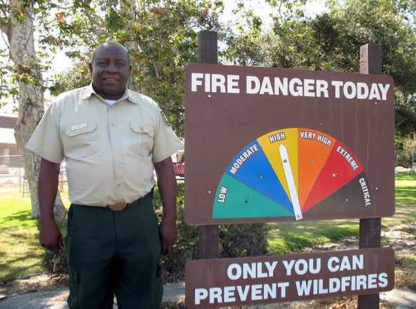 U.S. Forest Service veteran firefighter James Hall was named Angeles National Forest fire chief in June.