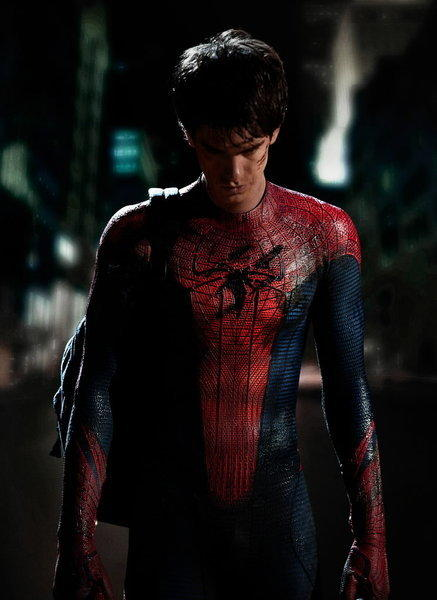 "<b>PG-13; 2:18 running time</b><br><br> Andrew Garfield served as the skeptical conscience of ""The Social Network""as Mark Zuckerberg's fellow Harvard student Eduardo Saverin, and here, anchoring his first franchise outing, he represents a significant change from Tobey Maguire, who played Parker/Spidey in the three ""Spider-Man"" films spanning the years 2002-2007. Maguire was all wide-eyed astonishment cut with a blase comic delivery of the lighter material. Garfield by contrast is pure adolescent angst (though he's nearly 30), more openly emotional and James Dean-y. He's a rebel with a cause and ultralight ultra-thin metal cable shooting out of his wrists. -- Michael Phillips<br><br>Read the full <a href=http://www.chicagotribune.com/entertainment/movies/sc-mov-0629-amazing-spider-man-20120630,0,6508633.column>""The Amazing Spider-Man"" movie review</a>"