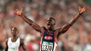 Four-time Olympic gold medalist sprinter Michael Johnson has been quoted as saying he believes slave descendants make superior athletes -- and that such a controversial topic shouldn't be avoided but discussed openly as the world begins to turn its attention to the London Olympics.