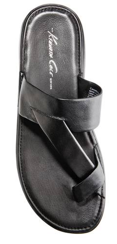 """$98 reduced to $87.99, Macy's, <a href=""""http://macys.com"""">macys.com</a><br> <br> <b>Pro:</b> Leather looks classy.<br> <br> <b>Con:</b> Straps call attention to your big toe, which is not remotely a good thing"""