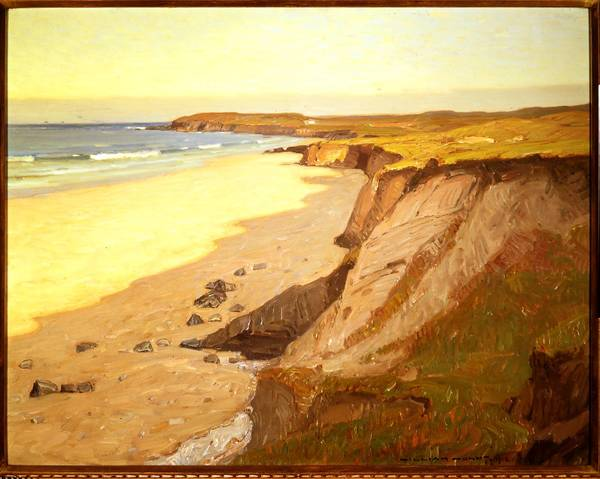 A painting by William Wendt from 1912.