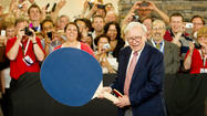 Warren Buffett, billionaire investor, keeps busy
