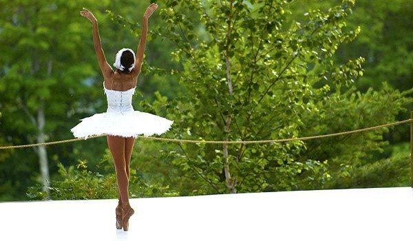 "A scene in ""Never Stand Still: Dancing at Jacob's Pillow."""