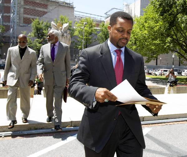 Kwame Brown, chairman of the Washington, D.C., City Council, resigned after facing fraud charges.