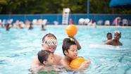 Laurel pools, cooling centers open for heat relief