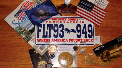 These items are part of a time capsule on the USS Somerset.