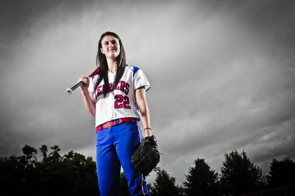 Rocky Hill High's Megan Ruonavaara, the Courant's softball player of the year.